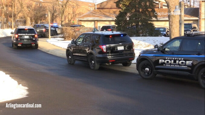 Palatine Police Department investigating a stabbing on Bayside Drive west of Frontage Road that was reported about 8:30 a.m. Tuesday (SOURCE: CapturedNews)