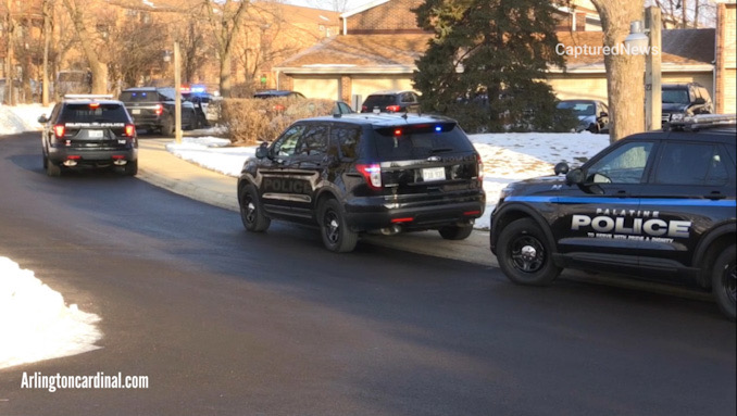 Palatine Police Department investigating a stabbing on Bayside Drive west of Frontage Road (SOURCE: CapturedNews)
