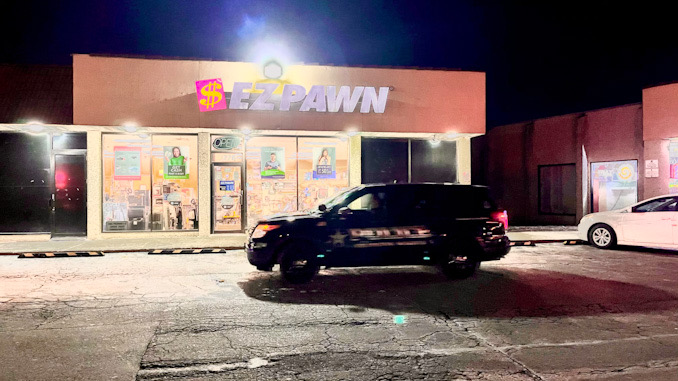 Arlington Heights Police Department responded to a report that two armed robbers took jewelry from a pawn shop Friday, January 22, 2021
