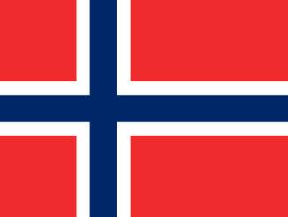 Flag of Norway (SOURCE: Dbenbenn, Public domain, via Wikimedia Commons)