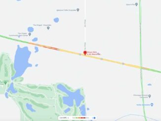 Map crash scene Route 60 west of Wilson Road in Wauconda Township (Map data ©2021 Google)