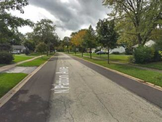 Patton Avenue near Palatine Road (Google Street View Image Capture October 2018 ©2021 Google)