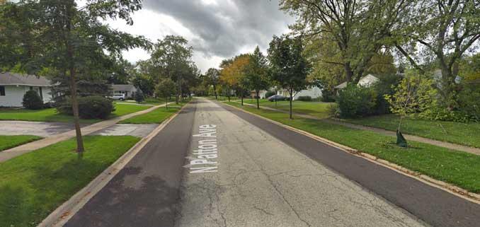 Patton Avenue near Palatine Road (Google Street View Image Capture October 2018 ©2021 Google)