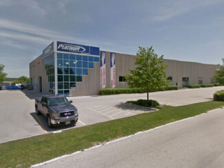 Platinum Auto Body on US 12 (Google Street View Image Capture: May 2012 ©2021 Google)