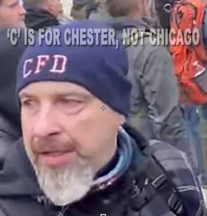 Robert Sanford, assault and civil disorder suspect at U.S. Capitol January 6, 2021