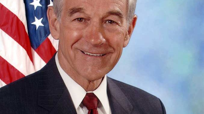 Ron Paul, former representative in the 22nd Congressional District in Texas