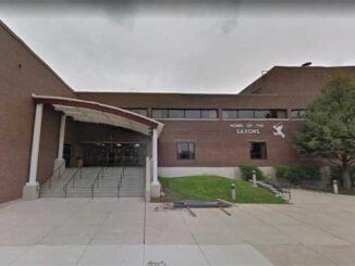 Schaumburg High School Google Maps Street View captured July 2017 (©2021 Google)