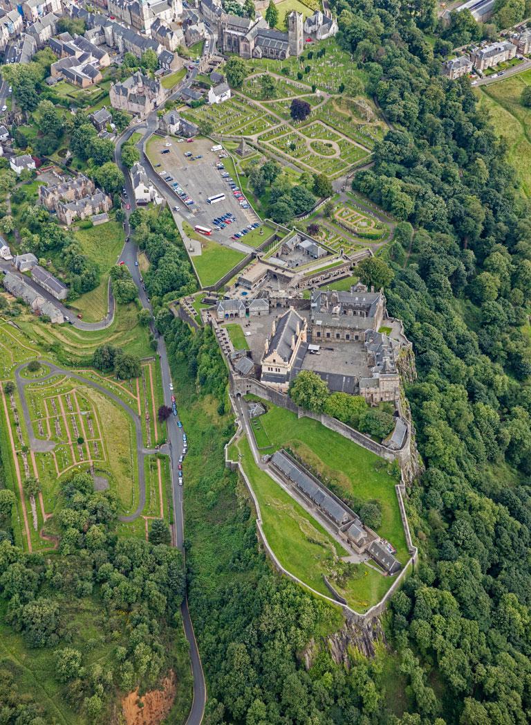 Stirling Castle in Scotland 2016  (Andrew Shiva/Wikipedia)