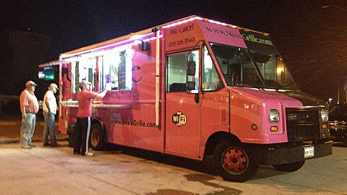 Stixx Grille's pink and brown truck, which had great food and all the right amenities, served customers in 2013 but suddenly disappeared without any notice