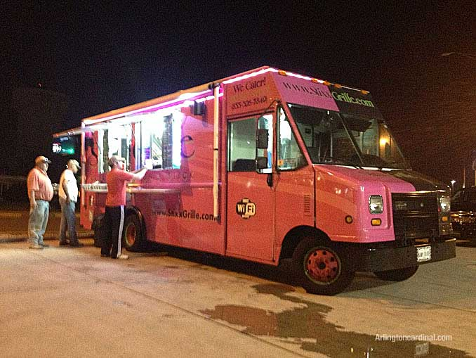 Stixx Grille's pink and brown truck had great food and all the right amenities served customers in 2013 but suddenly disappeared without any notice