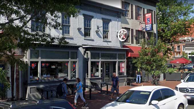 We the Pizza on Pennsylvania Avenue SE (Image capture July 2019 ©2021 Google)