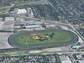 Arlington International Racecourse 2200 West Euclid Avenue Arlington Heights (SOURCE: Imagery ©2021 Google, Imagery ©2021 Maxar Technologies, U.S. Geological Survey, USDA Farm Service Agency, Map data ©2021)