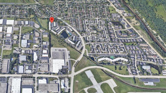 400 block of Allen Court in Wheeling (Imagery ©2021 Google, Imagery ©2021 Maxar Technologies, U.S. Geological Survey, USDA Farm Service Agency, Map data ©2021 Google)
