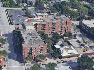 Apartment complex at 299 North Dunton Avenue in Arlington Heights (Imagery ©2021 Google Imagery ©2021 Maxar Technologies, U.S. Geological Survey, Map data ©2021 Google)