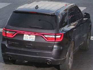 Carjacked Dodge Durango with Illinois Plate S33 9713