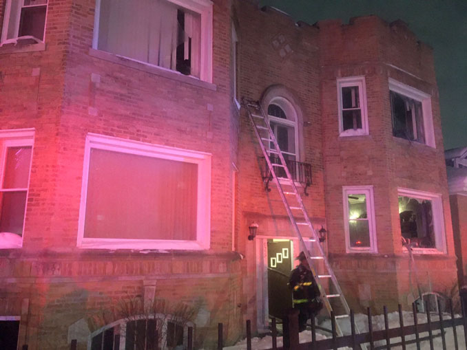Fatal  apartment fire on Loomis Street near 92nd Street Chicago (SOURCE: Chicago Fire Department)