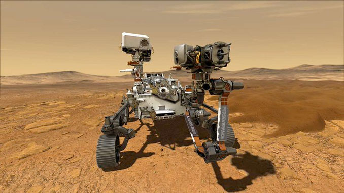Perseverance Rover (SOURCE: NASA)