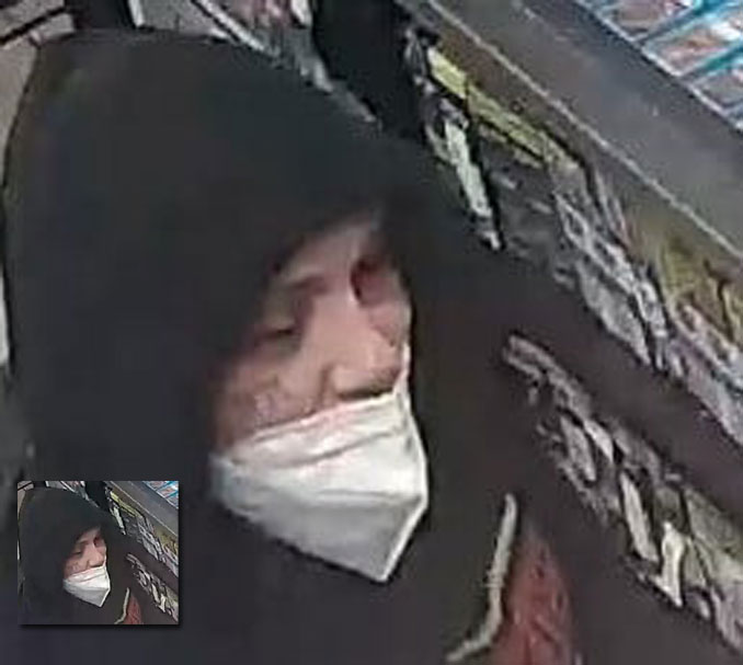 Suspect 1 Marengo Circle K Armed Robbery (SOURCE: Marengo Police Department)
