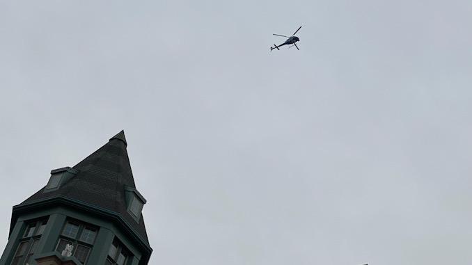 ABC 7 Chicago Chopper 7 HD checking out Arlington Alfresco