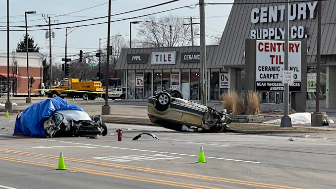 Fatal crash Rand Road and Mount Prospect Road