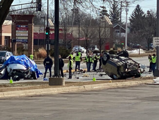Serious crash at Rand Road and Mount Prospect Road