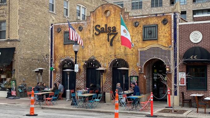 Salsa 17 on opening night of Arlington Alfresco 2021