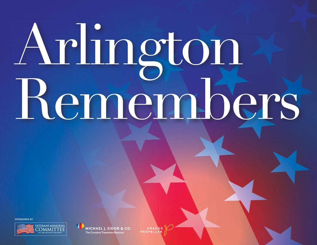 Arlington Remembers sign