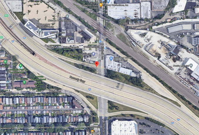 Kimball Avenue on-ramp to I-90 WEST Aerial View (Imagery ©2021 Google, Imagery ©2021 Maxar Technologies, Sanborn, U.S. Geological Survey, USDA Farm Service Agency, Map data ©2021)