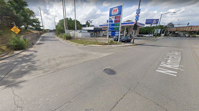Kimball Avenue on-ramp to I-90 WEST Chicago (Image capture August 2019 ©2021 Google)