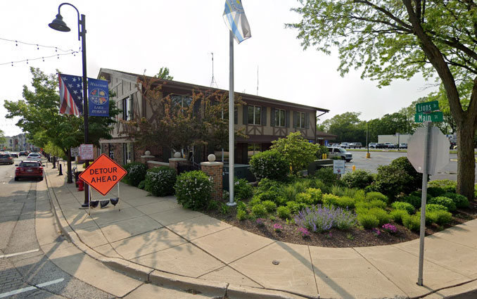 Lake Zurich Main Street and Lions Drive Street View (Image capture May 2019 ©2021 Google)