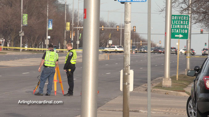 MCAT-STAR investigators at Golf Road and National Parkway on Sunday, March 21, 2021