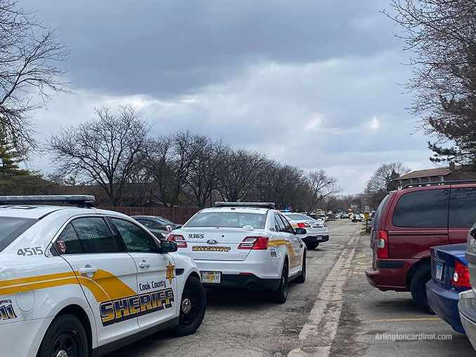 "Cook County Sheriff's Office ""shots fired"" investigation on Nichols Road on Wednesday, March 31, 2021"