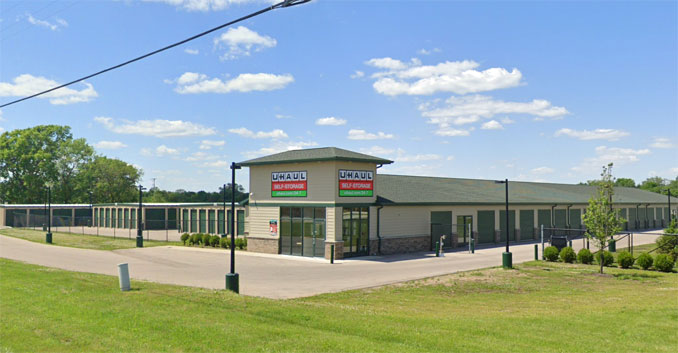 U-Haul Roscoe Illinois (Image captured June 2019 ©2021 Google)