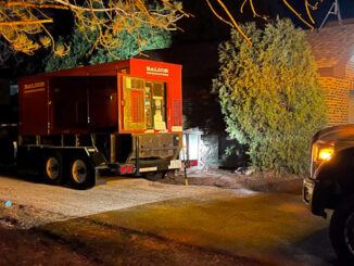 Generator at a Lift Station on North Harvard Avenue in Arlington Heights