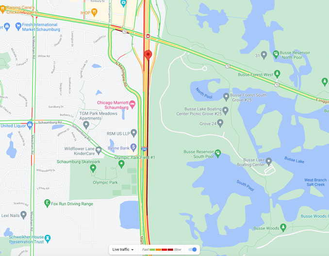 Crash Traffic Map Route 53 on Thursday April 29, 2021