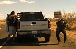 DashCam with fatal shooting of New Mexico State Police Officer Darian Jarrott