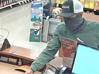 Jewel-Osco TCF Bank security image of bank robber at 1860 South Arlington Heights Road in Arlington Heights (SOURCE: FBI Chicago)