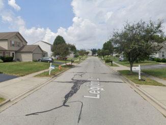 Legion Lane shooting scene neighborhood (Google Street View Image Capture August 2019 ©2021)