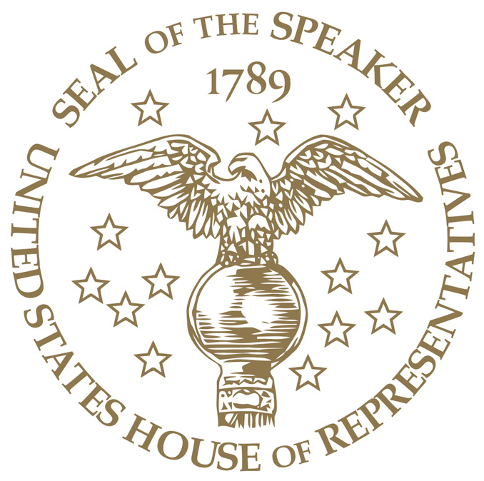 United States Speaker of the House Logo (Cardinal News not affiliated with the Speaker of the House or the United States government)