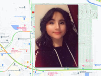 Angela Chacon-Escobedo, missing person (SOURCE: Cook County Sheriff's Office/Map data ©2021 Google)