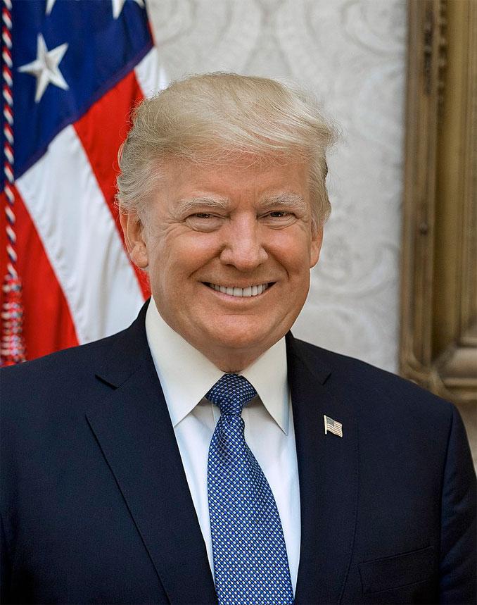 Donald J. Trump official portrait