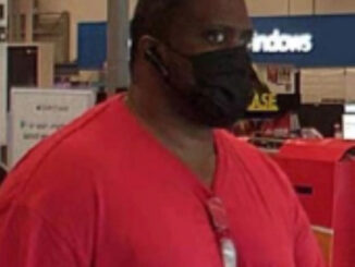 Locker Theft and Credit Card Fraud suspect at Best Buy at Town & Country shopping center in Arlington Heights