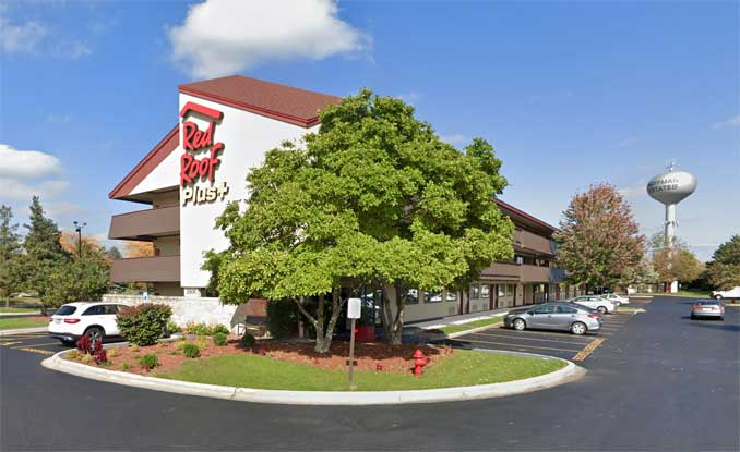 Red Roof Inn 2500 Hassell Road, Hoffman Estates (Image capture October 2018 ©2021 Google)