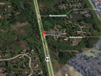 Route 83 and Endwood Drive Long Grove (Imagery ©2021 Google, Imagery ©2021 Maxar Technologies, U.S. Geological Survey, USDA Farm Service Agency, Map data ©2021)
