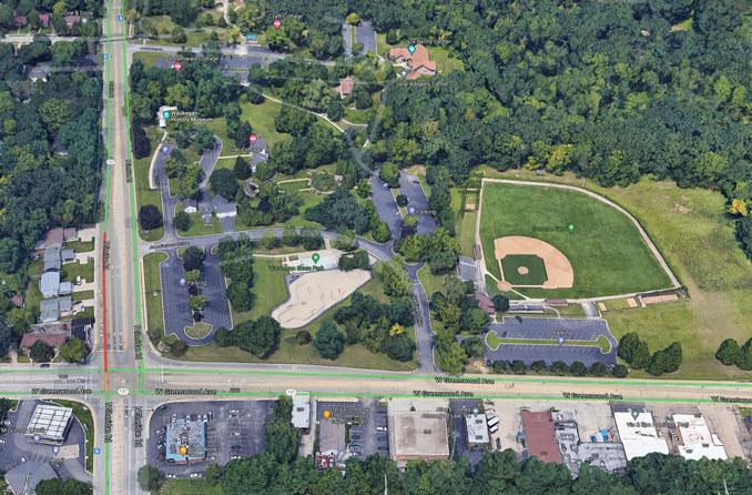 Bowen Park Aerial (Imagery ©2021 Google, Imagery ©2021 Maxar Technologies, U.S. Geological Survey, Map data ©2021 Google)