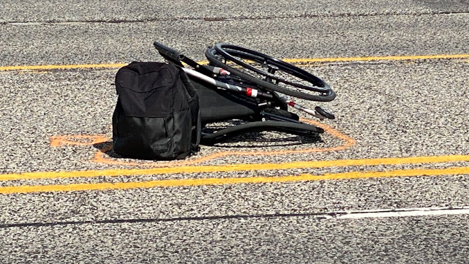 Wheelchair pedestrian injured in hit-and-run crash on Elmhurst Road south of Miller's Road in Mount Prospect on Wednesday, June 2, 2021
