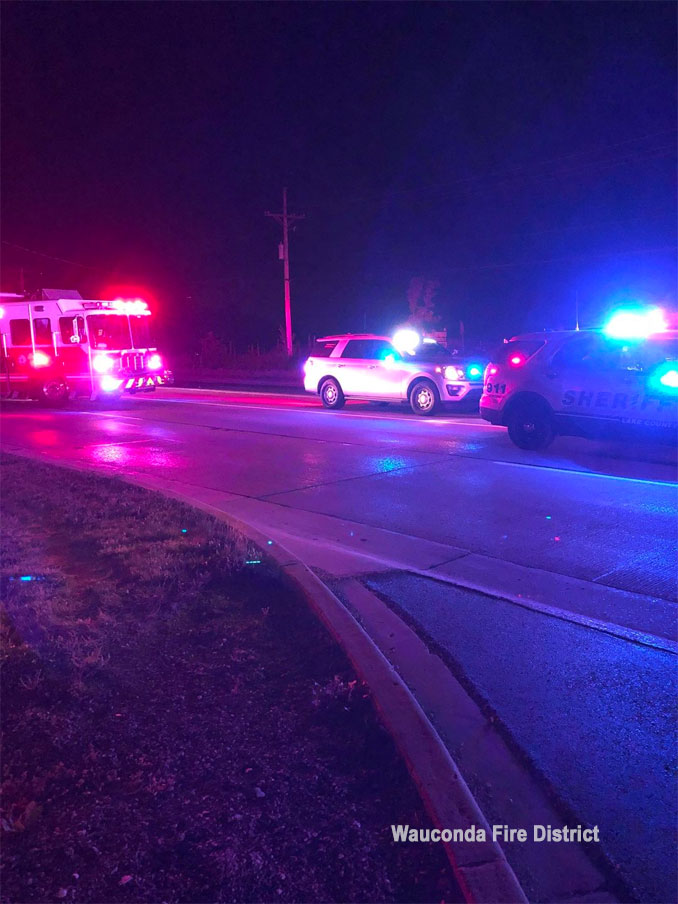 Pedestrian hit on Route 120 in Wauconda Township on Saturday, June 19, 2021