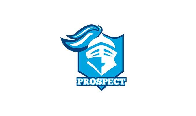 Prospect High School logo (SOURCE: Prospect High School/Fair use to compare hypocrisy of criticizing Police Thin Blue Line)