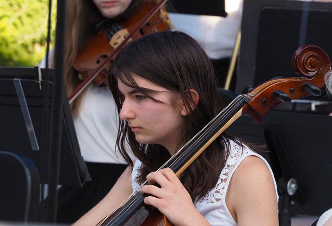 Calista Kopulos at Symphony Concert July 2021
