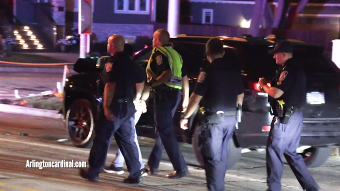 Impaired driver taken in custody at Arlington Heights Road and Euclid Avenue for DUI investigation